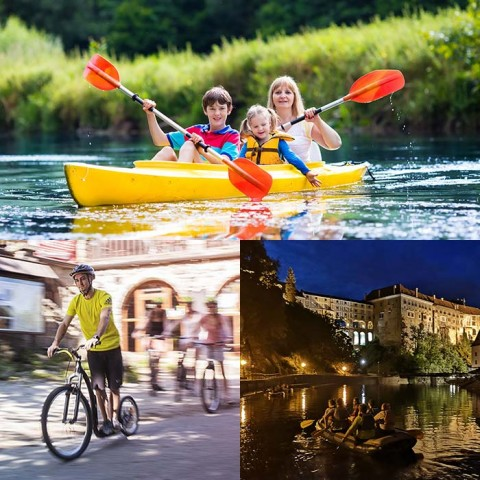One-day trips combined with Scooters or Night Rafting with a discount of up to 15%