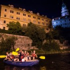 Night rafting