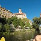 Boat-ride through Český Krumlov